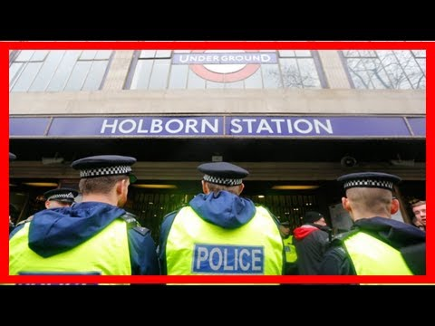 Breaking News | Police investigate suspicious package near holborn station