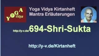 Shri Sukta - Erläuterungen und Übersetzung 694