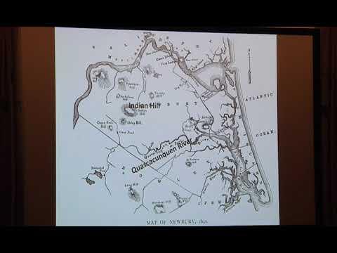 Algonquians on the Parker River & P.I. Presented by M.E. Lepionka