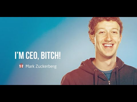 People who changed the world - Mark Zuckerberg: CEO Facebook