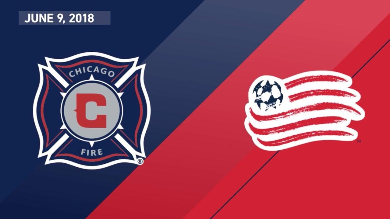 10968e277 HIGHLIGHTS: Chicago Fire vs. New England Revolution | June 9, 2018 ...