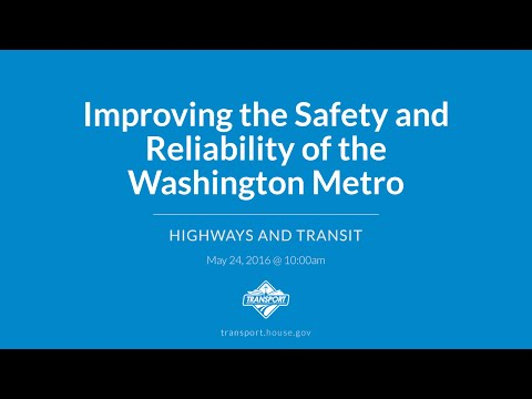 Improving the Safety and Reliability of the Washington Metro