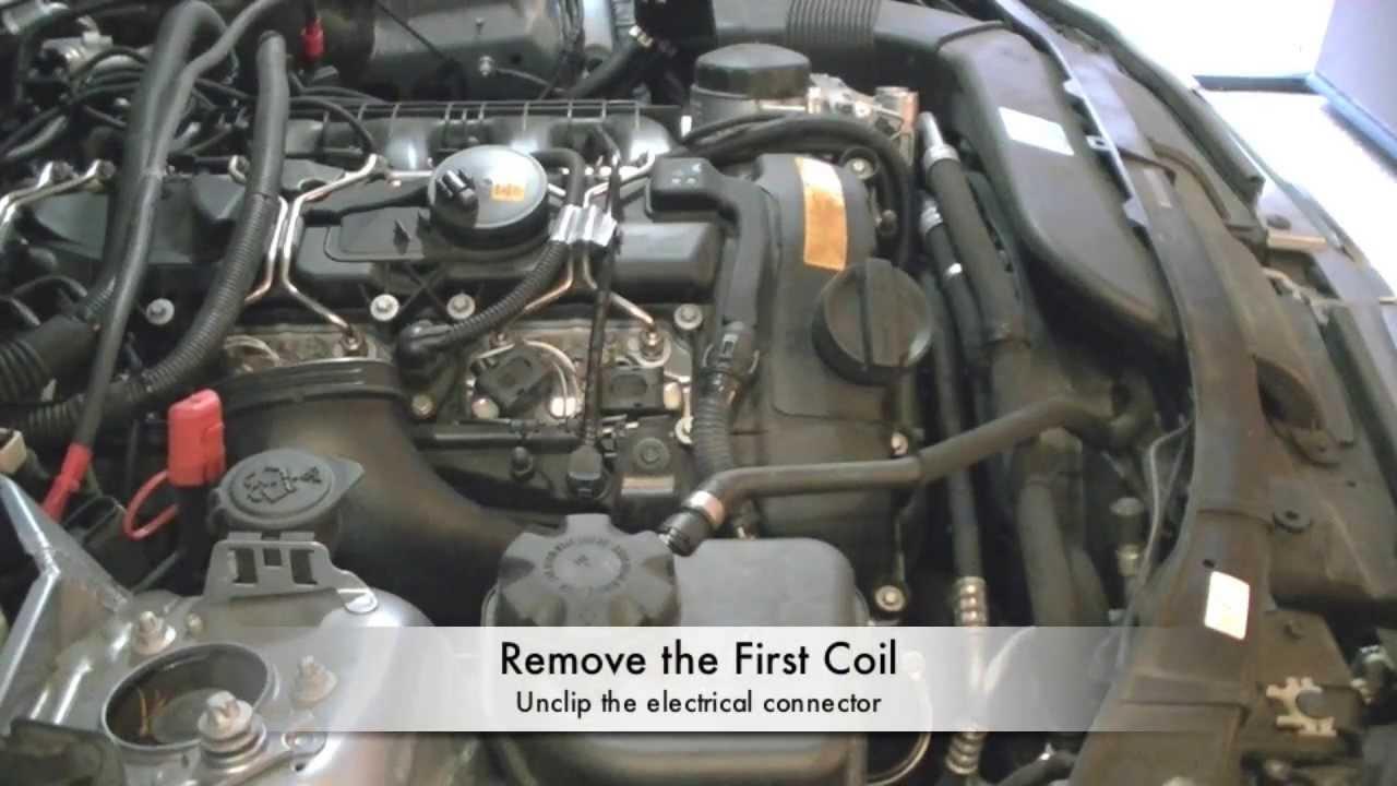 2011 BMW 335i N55 Spark Plug Change  Part 1  YouTube