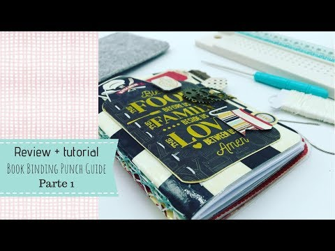 Review book binding punch guide,  we r, parte 1