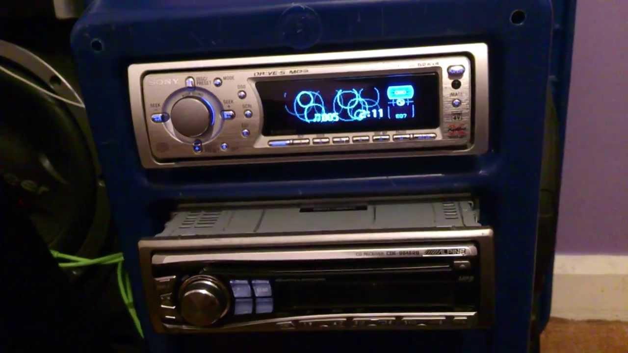 Old School Kenwood Car Stereo