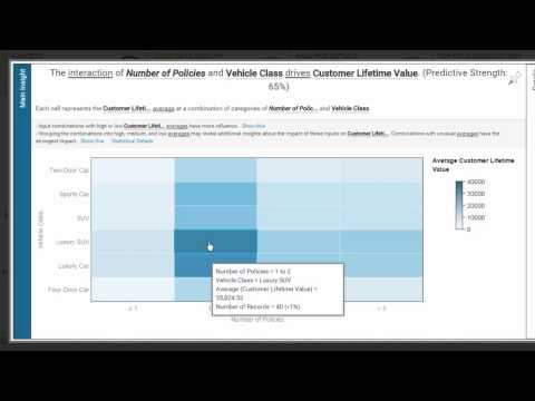 Watson Analytics - Car Insurance Analyst Demo