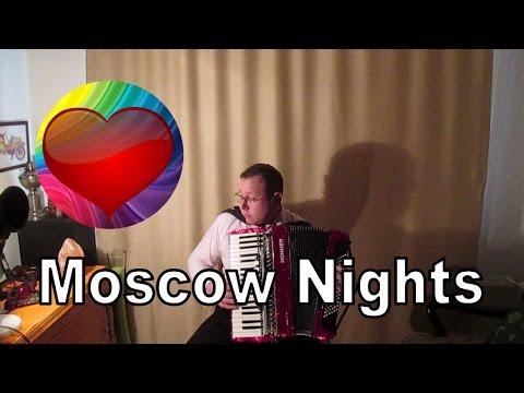 """Moscow Nights """"Moskova Geceleri"""" - Accordion - Подмосковные Вечера"""