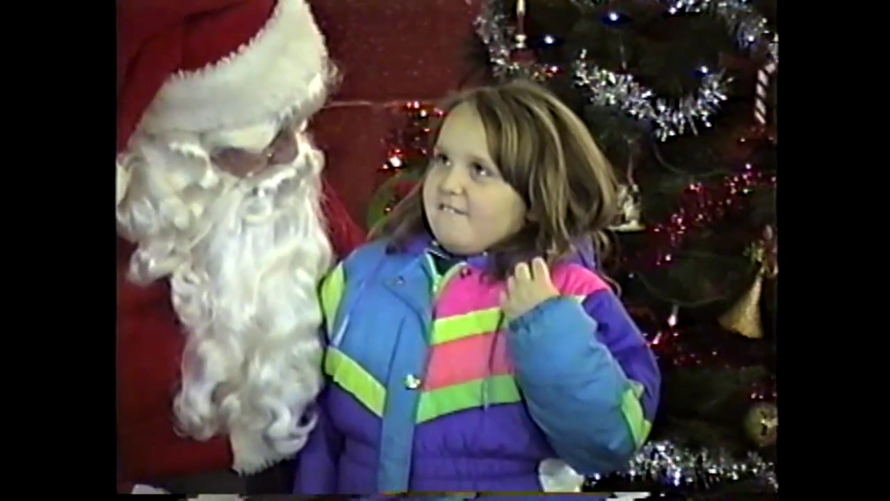 Santa at Rouses Point F. D.  12-16-95