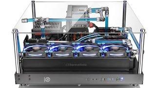 Обзор эффектного корпуса Thermaltake Core P5 для демонстрации компонентов ПК