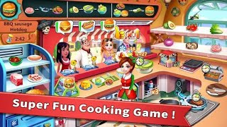rising super chef - craze restaurant cooking gameplay video screenshot 1