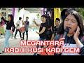 suara nana mirip artis india, dan kompaknya  dance megantara di lagu