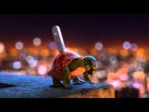 VivaCell MTS Turtle   3D Animated TV Commercial
