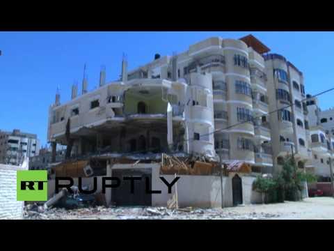 State of Palestine: Gaza homes ravaged by IDF shelling