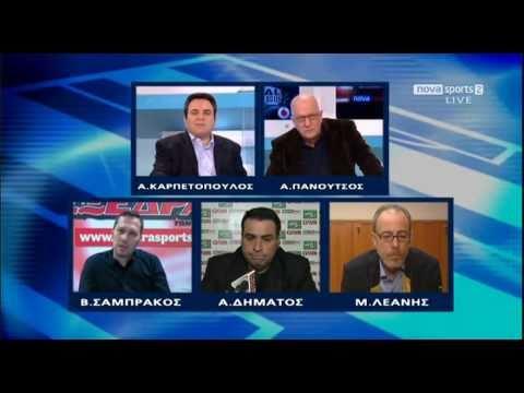 OLYMPIAKOS PANATHINAIKOS 2-1 Total Superleague 2010-11