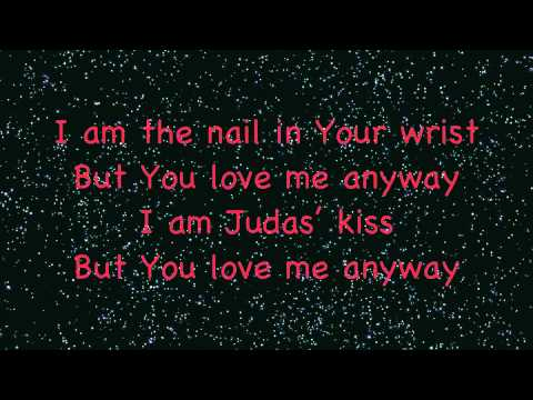 You love me anyway with lyrics.