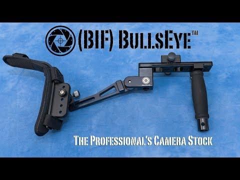 Introducing The BIF Bullseye: The DSLR Shoulder Stock, Evolved