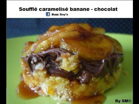 soufflé-caramel-choco-banane-recette-facile-et-rapide-gateau