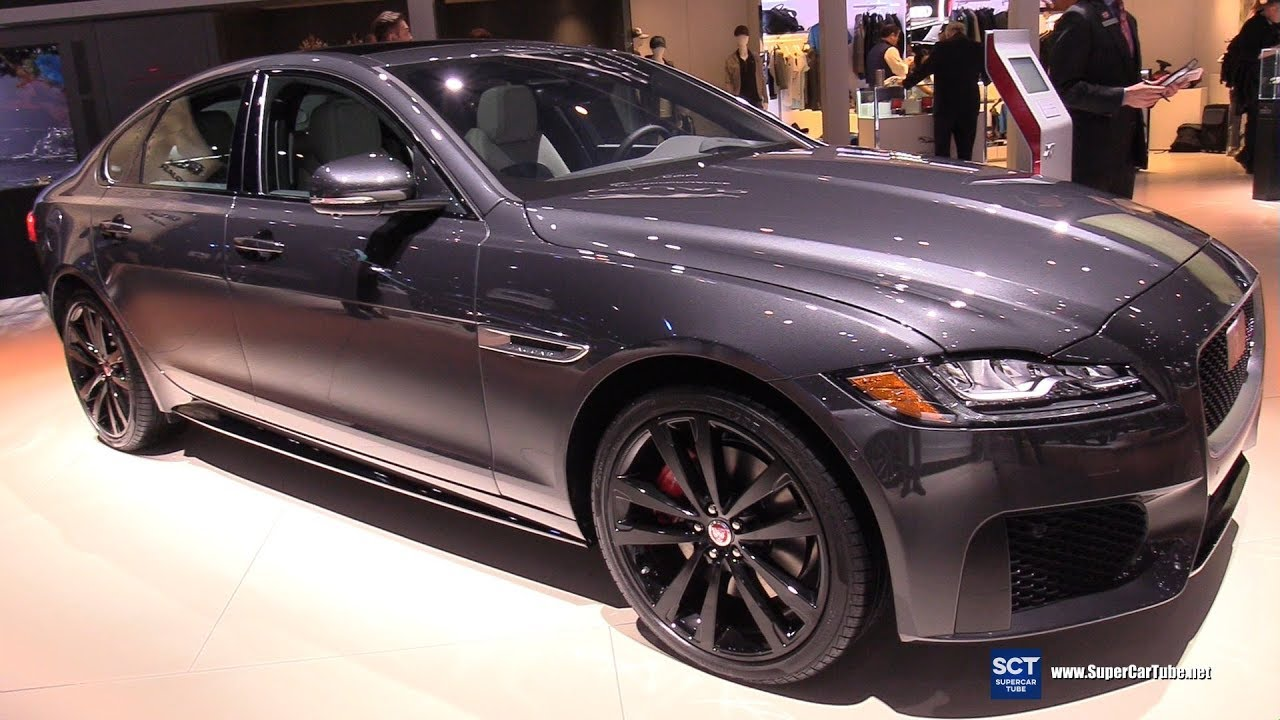 2019 jaguar xf sport - exterior and interior walkaround - 2018 la auto show