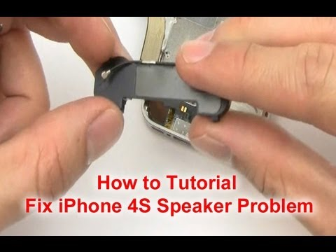 iphone 5 speaker not working how to fix iphone 4s speaker problem 7146