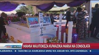 Itazame safari ya mwisho ya mapacha Maria na Consolata, mamia washindwa kujizuia