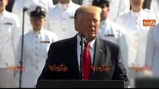 """Trump commemora l'11 Settembre: """"Oggi piangiamo quasi 3000 vittime"""""""