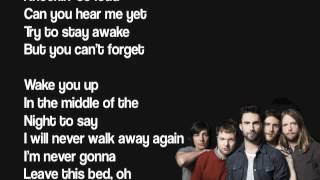 Download Maroon 5 - Never Gonna Leave This Bed Lyrics Mp3