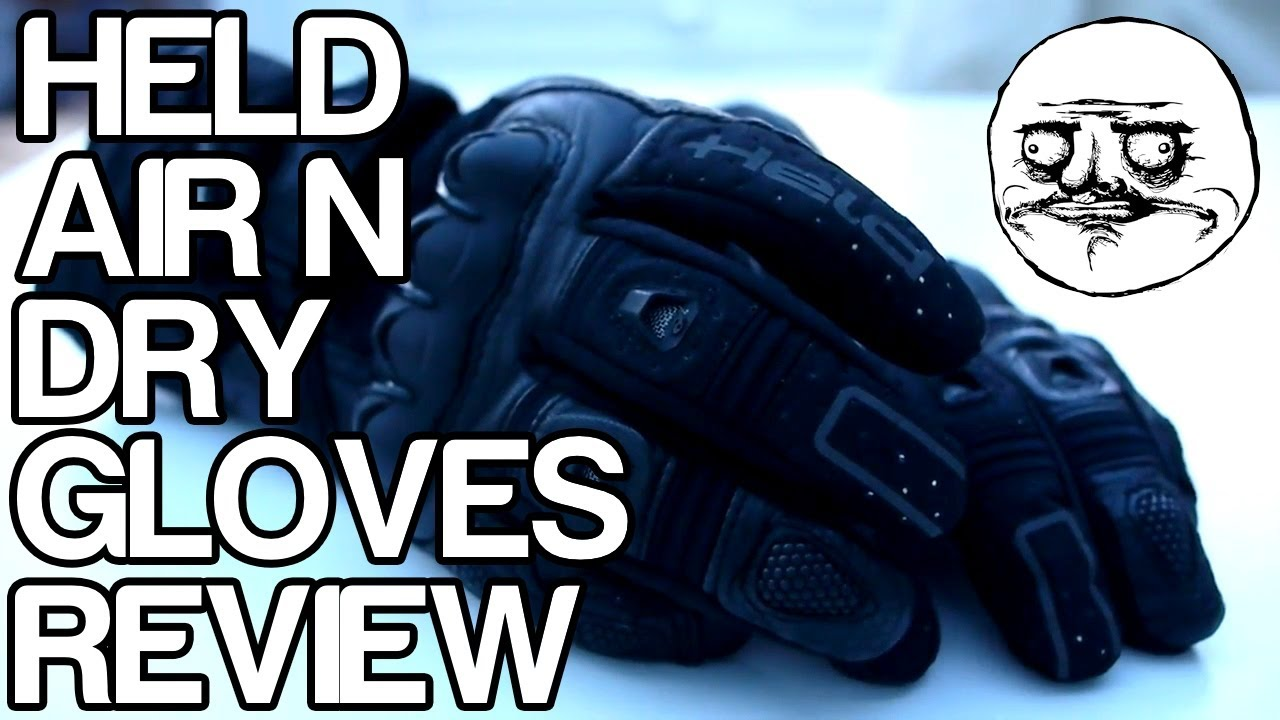 held air n dry motorcycle gloves review youtube. Black Bedroom Furniture Sets. Home Design Ideas
