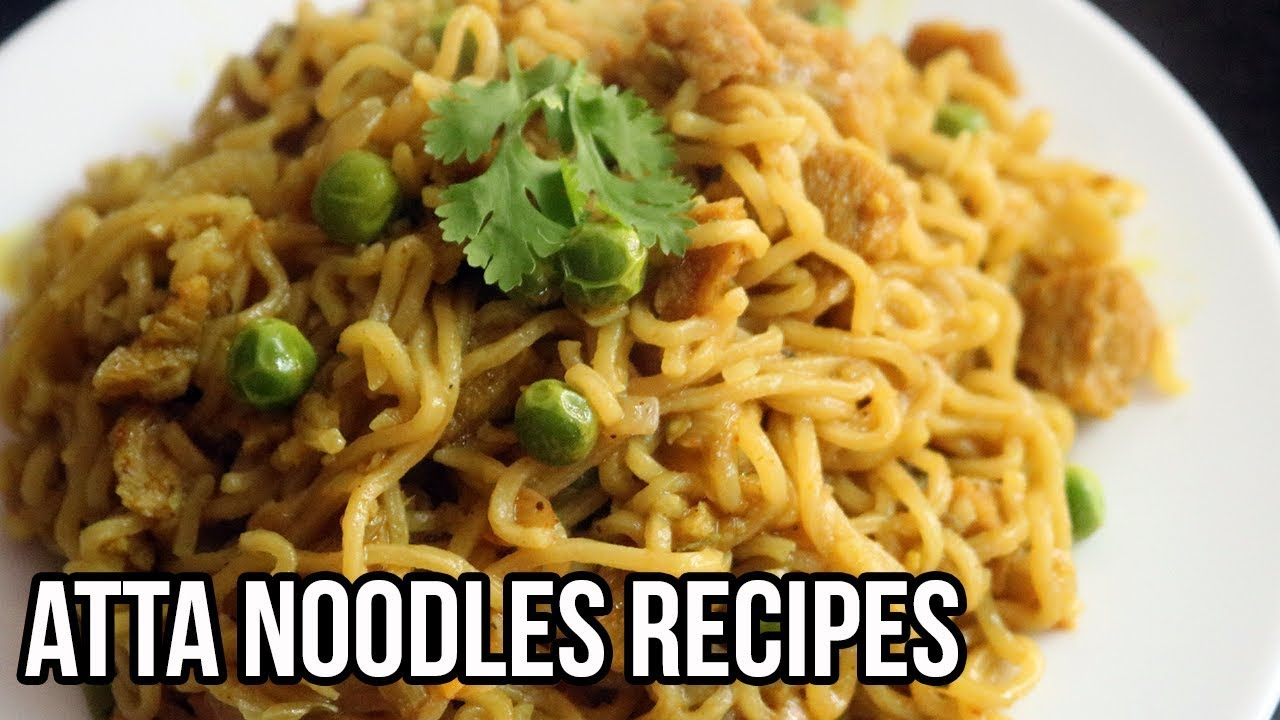 நூடல்ஸ் விருந்து | Atta Noodles varieties in Tamil | Easy ...