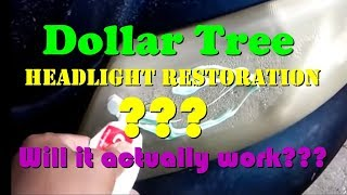 Headlight Restoration Using Toothpaste - How To Restore Headlights Using Toothpaste