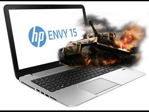 HP Envy 15-j012er VS WoT 0.9.0. (Maximum Settings)