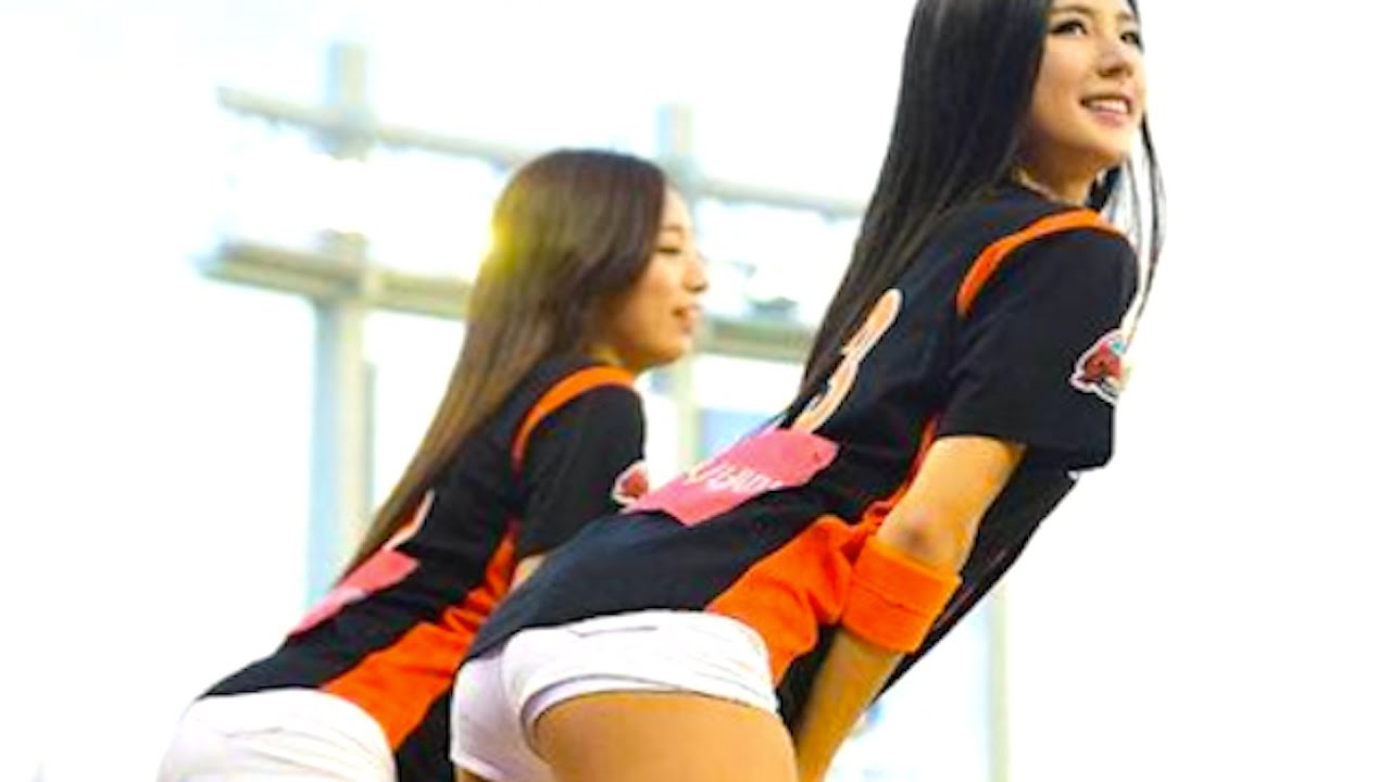 korea's sexiest cheerleader? - youtube