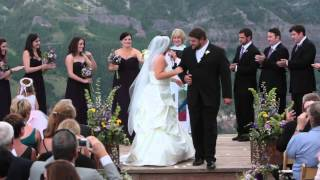 The Fever: Ceremony & First Dance at Allred's Restaurant, Telluride