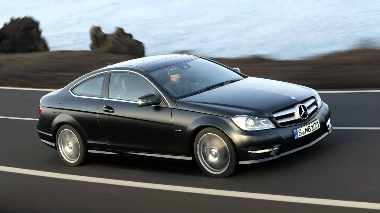 2012 mercedes benz c class coupe youtube. Black Bedroom Furniture Sets. Home Design Ideas