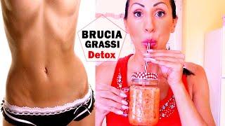 BEVANDA BRUCIAGRASSI ANTICELLULITE !!! | Detox Drink - Carlitadolce