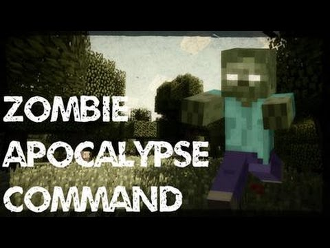 Zombie Apocalypse Command | Vanilla Minecraft: (Guns, Structures and More) 1.11