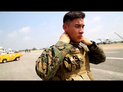 DFN:Cobra Gold 18: U.S. Marines and Soldiers conduct, Helicopter Support Team operations, 02.16.2018