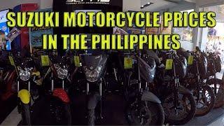 Suzuki Motorcycle Prices In The Philippines