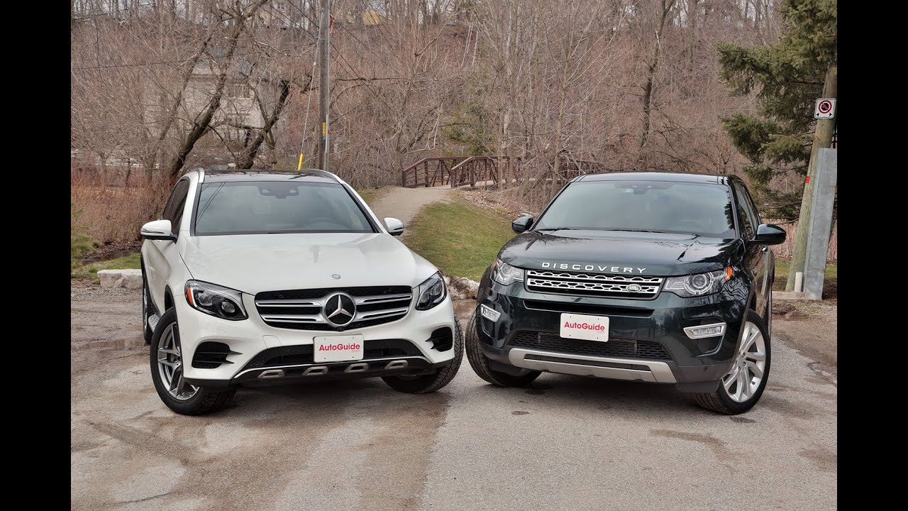 2016 Range Rover Evoque Vs Mercedes Glc300 Review