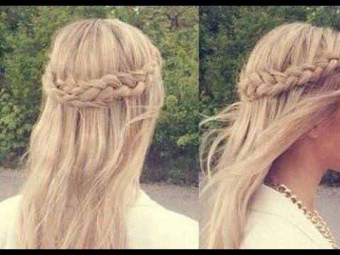 6 Peinados Faciles Rapidos Y Bonitos Para Ir A Clase Back To School Hairstyles Youtube
