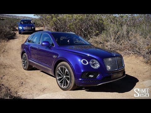Bentley Bentayga Off-Roading in the Dunes
