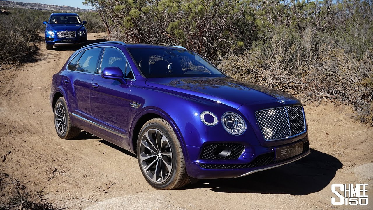Bentley Bentayga Off Roading In The Dunes Youtube