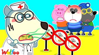 Stop, Wolfoo! Your Teeth So Dirty - Brush Your Teeth, Please! Good Habits for Kids | Wolfoo Channel