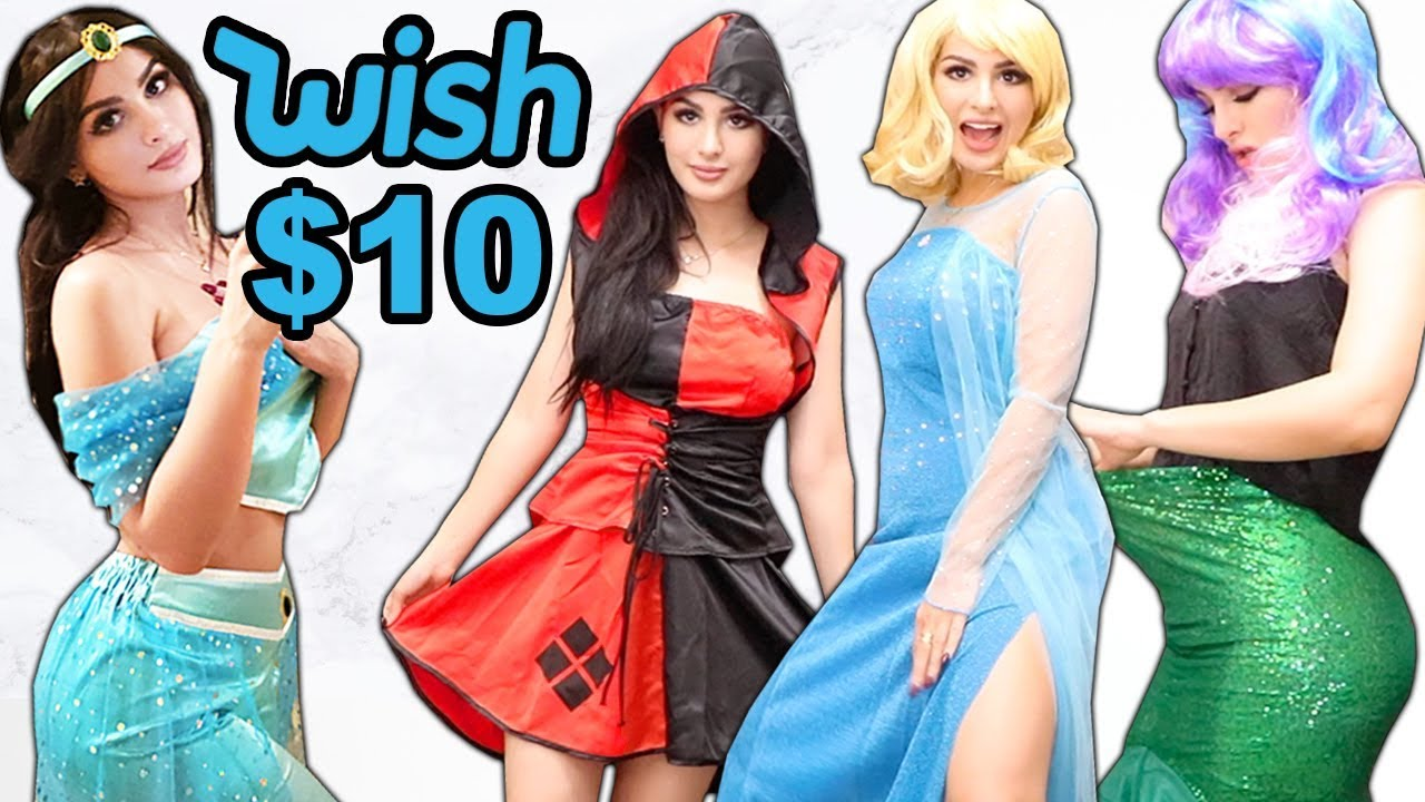 trying-on-cheap-halloween-costumes-from-wish