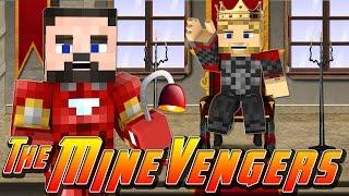 Minecraft MineVengers - IRON-MAN vs THOR!!