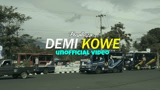 DEMI KOWE - Pendhoza SKA VERSION Unofficial Video Cover + Lirik (cc)