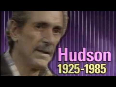 Rock Hudson Interview One Year Before He Passed Away.