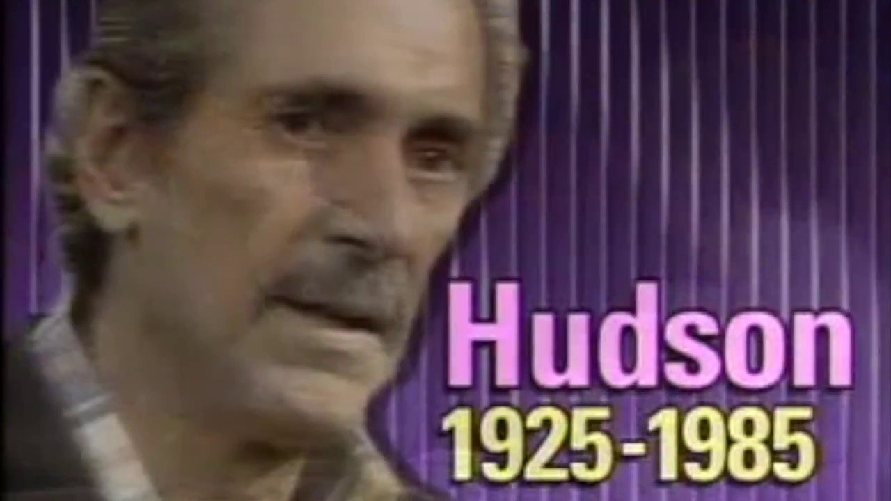 Rock Hudson Interview One Year Before He Passed Away Youtube