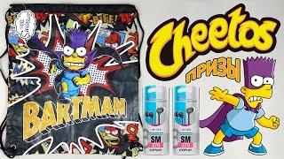 Призы Читос Бартмен Симпсоны Акция 2015 | Cheetos Bartman Prizes Action 2015