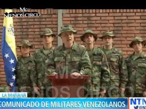 GENERALES DEL EJÉRCITO ORDENAN LA SALIDA DE NICOLAS MADURO Y RECONOCEN AL PRESIDENTE  GUAIDÓ