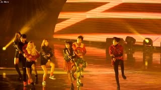161226 블랙핑크,레드벨벳,got7,nct Opening Show  전체  직캠 Fancam  2016 가요대전  By Mera